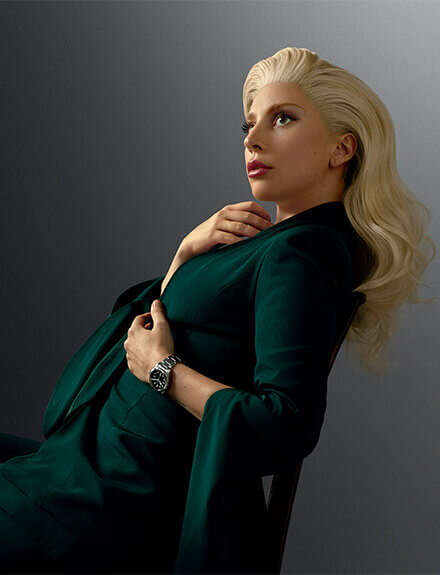 Lady Gaga Tudor Watches