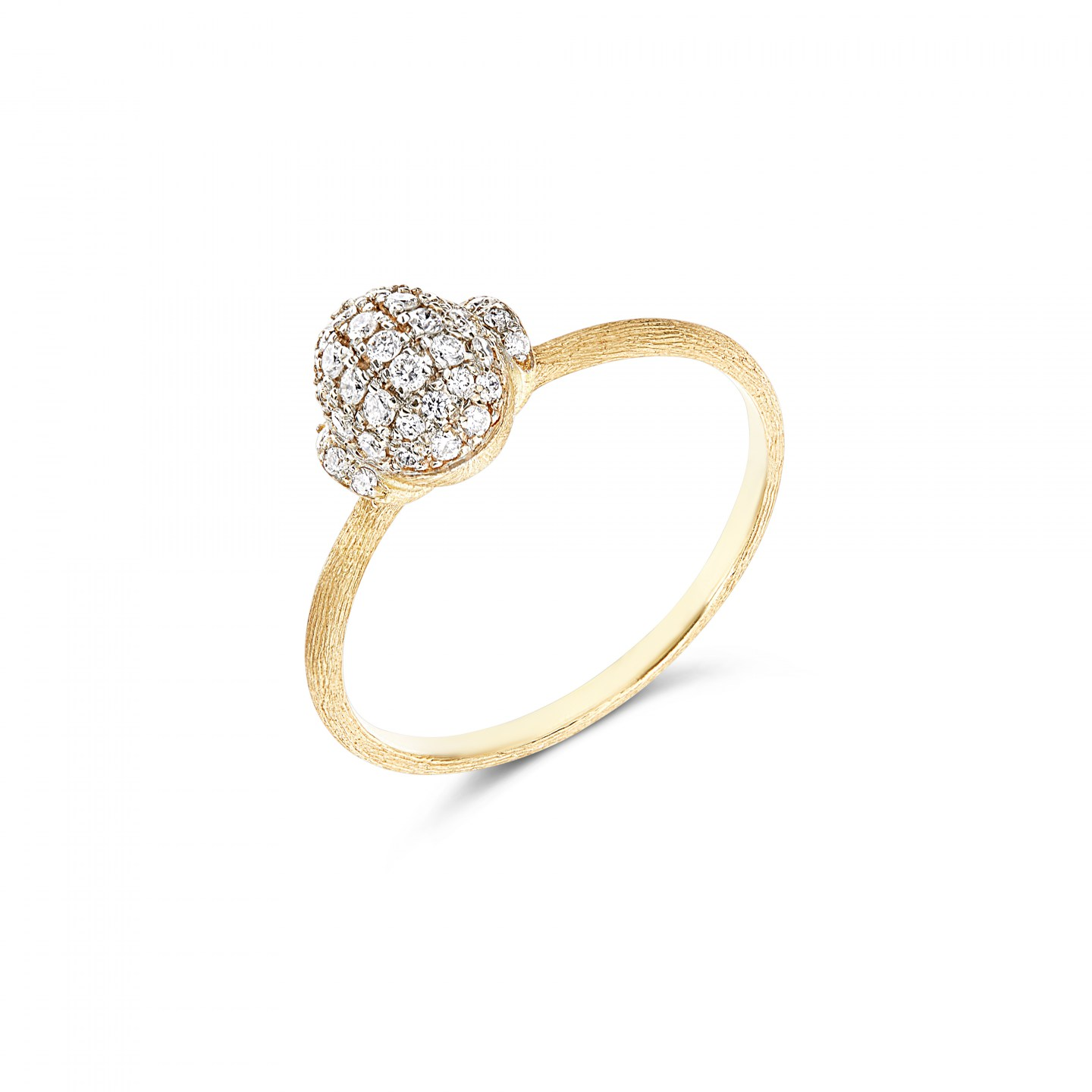 Diamond and  Ring in 18k Gold