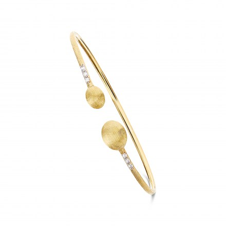 Nanis, Dancing in the Rain Bracelets in yellow gold K18 with diamonds and precious stones, NaniB2