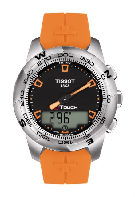 TISSOT T-TOUCH II STAINLESS STEEL Model: T0474201705101